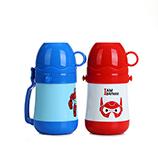 450ML创意卡通大白儿童保温壶学生不锈钢水壶宝宝水杯