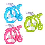 创意USB单车风扇卡通静音桌面风扇学生情侣自行车小风扇