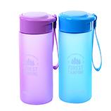 450ML创意磨砂太空杯户外便携塑料水杯运动旅行泡茶杯子