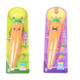 萝卜橡皮擦迷你风扇 创意卡通小风扇 儿童玩具
