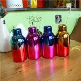 300ML酷炫小胖保温杯  创意个性渐变色不锈钢保温瓶