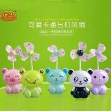 熊猫坐姿USB充电风扇