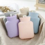 小号硅胶注水热水袋暖手宝防爆安全无异味暖水袋