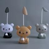 1030卡通小熊触摸感应台灯可弯曲两档调节小夜灯