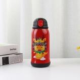 500ML二代儿童保温壶-龙一杯两盖不锈钢吸管保温杯