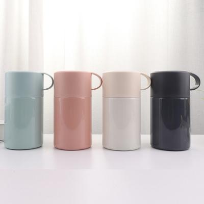 600ML创意提手心选焖烧杯便携保温饭盒带勺子焖烧壶