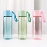 350ML亚奇提绳随手杯炫彩水杯户外运动旅行塑料杯子