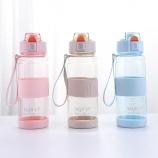 550ML亚奇运动弹跳水杯太空杯便携户外旅行塑料杯