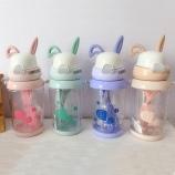 550MLQ兔背带儿童吸管杯