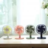 纳凉桌面充电风扇三档大风力可调角度创意usb风扇