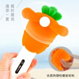 卡通蔬菜萝卜造型手压风扇夏日清凉迷你可爱小风扇