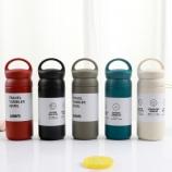 350ML创意304不锈钢保温杯便携提手咖啡杯车载水杯