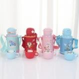 500ML卡通小萌星萌动系列保温杯儿童一杯两盖喝水杯子