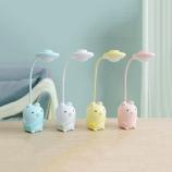 可爱胖小猪USB充电护眼台灯三档调光小夜灯