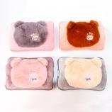 创意小熊电暖袋充电热水袋已注水加绒暖手宝电暖宝