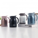 600ML时尚真空咖啡壶带手柄304不锈钢车载保温壶