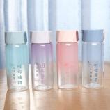 300ML唯你时尚渐变色玻璃杯小清新单层透明喝水杯子