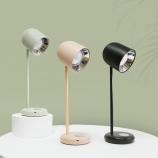 创意LED护眼简约北欧台灯触摸usb充电小夜灯床头灯