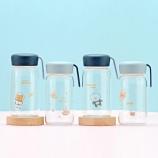360ML创意可爱宇宙系列美客玻璃杯提绳随手杯便携带杯子