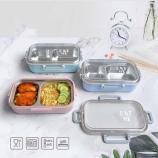 600ml洛奇不锈钢饭盒创意上班男女士便当盒学生午饭盒