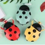 七星瓢虫补光灯镜子风扇创意个性可爱便携迷你小风扇