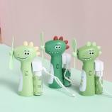 萌乐恐龙喷水风扇卡通可爱创意个性便携风扇充电迷你小风扇
