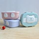 730ml卡通饭盒创意学生党分格式饭盒上班族便携餐盒