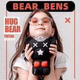 380ml熊本士抱抱熊儿童水壶熊本士儿童甜甜圈凉水壶