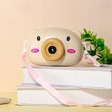 黄小猪泡泡相机背带学生儿童玩具泡泡机网红款可爱电动泡泡机