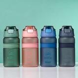 550ml磨砂款立卓乐维吸嘴水杯便携户外运动塑料杯