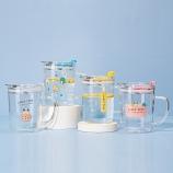 350ML韩版LUCK吸管玻璃杯带刻度牛奶杯果汁咖啡杯