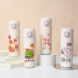 400ML创意3D打印百世可爱显温保温杯少女心可爱水杯
