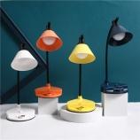 贝壳带支架触摸感应台灯LED三挡调光宿舍书桌学习灯