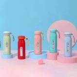 360ML创意纯色暖手抖温保温杯少女心可爱居家变温水杯