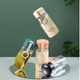 200ML简约卡欧玻璃杯小清新便携随手杯单层透明杯子