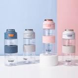 650ML立卓舒适运动水杯大容量户外旅行便携塑料杯