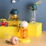 300ML创意小萌玻璃杯带茶漏时尚潮流可爱便携随手杯