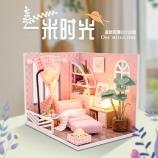 幸福一角-一米时光diy小屋木质拼装小房子模型创意礼物