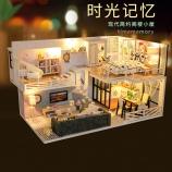 阁楼系列-时光记忆万乐diy小屋手工制作木制拼装模型