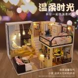 阁楼系列-温柔时光diy小屋手工制作别墅拼装小房子模型