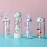 350ML百变女孩美乐吸管塑料杯