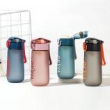 430ML星空系菲尔弹盖塑料杯个性简约时尚磨砂太空杯