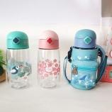 550ML旅行儿童吸管塑料杯