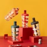 550ML创意时尚潮玩旋风搅拌塑料杯学生Tritan吸管杯