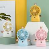 小天使风扇学生宿舍办公室家用静音手持迷你小型电扇