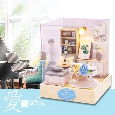 爱的协奏曲-VIAI小屋DIY手工制作拼装模型清新风礼物