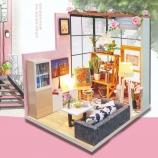 那时花开-VIAI小屋DIY手工制作房子模型创意艺术屋