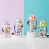 650ML鸭鸭联盟背带儿童塑料杯学生可爱便携随手杯