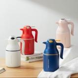1700ML轻奢保温壶大容量智能显温带手柄咖啡壶